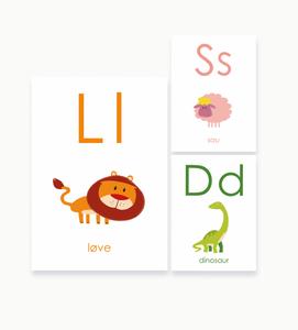 Bilde av Alfabetkort